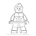 How to Draw Lego Hulkling