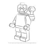 How to Draw Lego Iron Patriot