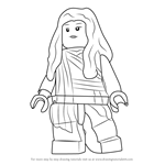 How to Draw Lego Jane Foster