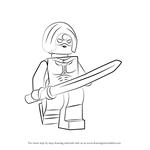 How to Draw Lego Katana