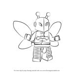 How to Draw Lego Killer Moth
