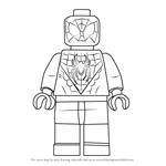 How to Draw Lego Miles Morales