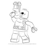 How to Draw Lego Nick Fury