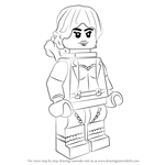 How to Draw Lego Squirrel Girl