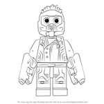How to Draw Lego Star-Lord