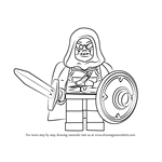 How to Draw Lego Taskmaster