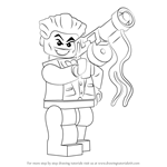 How to Draw Lego The Joker