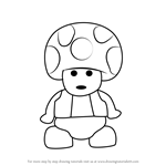 How to Draw Lego Toad