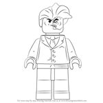 How to Draw Lego Two-Face