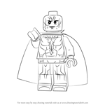 How to Draw Lego Vision