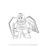 How to Draw Lego Vulture