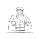 How to Draw Lego Wiccan