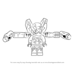 How to Draw Lego Yellow Jacket