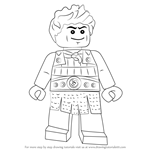 How to Draw Ash from Ninjago