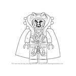 How to Draw Chen from Ninjago