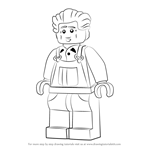 How to Draw Ed from Ninjago