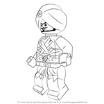 How to Draw Gravis from Ninjago