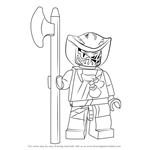 How to Draw Lasha from Ninjago