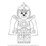 How to Draw Laval from Ninjago
