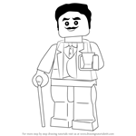 How to Draw Lou from Ninjago