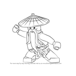 How to Draw Master Wu from Ninjago