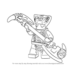How to Draw Mezmo from Ninjago