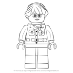 How to Draw Misako from Ninjago