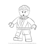 How to Draw Neuro from Ninjago