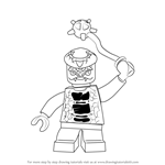 How to Draw Snike from Ninjago