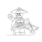 How to Draw Stone Scout from Ninjago