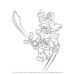 How to Draw Stone Warrior from Ninjago