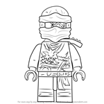 How to Draw Zane from Ninjago