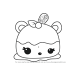How to Draw Annie Apple from Num Noms