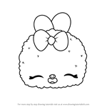 How to Draw Apple Icy from Num Noms
