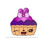 How to Draw Berry Bake from Num Noms
