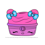 How to Draw Berry Blizzard from Num Noms