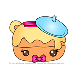 How to Draw Blaire Eclair from Num Noms