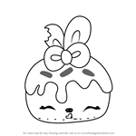 How to Draw Bonnie Blueberry from Num Noms