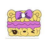 How to Draw Brandy Berry from Num Noms