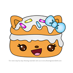 How to Draw Candles a la Crème from Num Noms