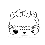 How to Draw Candy Créme Gloss-Up from Num Noms