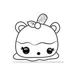 How to Draw Cara Mellie from Num Noms