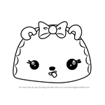 How to Draw Caramelly Go-Go from Num Noms