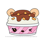 How to Draw Charlotte Choco from Num Noms