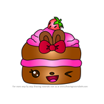 How to Draw Chelsea Choco from Num Noms