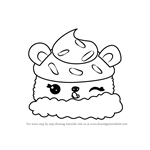 How to Draw Choco Nilla from Num Noms