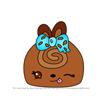 How to Draw Cocoa Roll from Num Noms