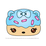 How to Draw Cotton Donut Gloss-Up from Num Noms
