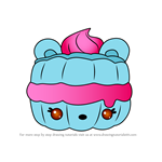 How to Draw Dollop Cottonwich from Num Noms