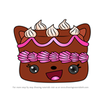 How to Draw Forrest Black from Num Noms